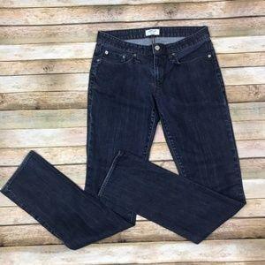 Hemut Lang • Straight Leg Dark Wash Denim Jeans 29
